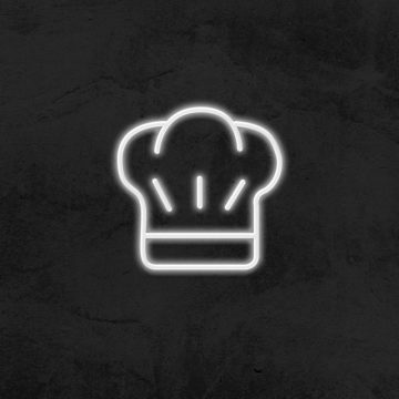 neon chapeau de chef