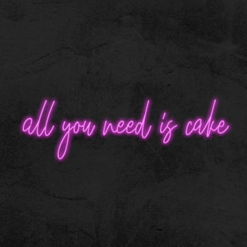 neon all you need is cake boulangerie patisserie la maison du néon