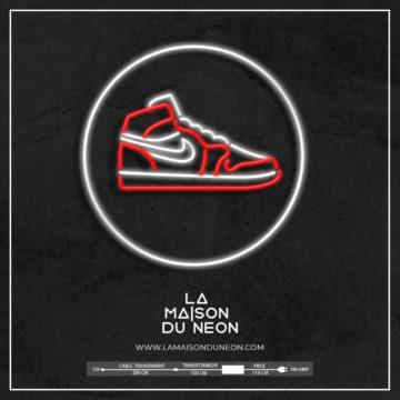 Neon Air Jordan