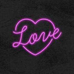 Coeur Love neon LED la maison du neon