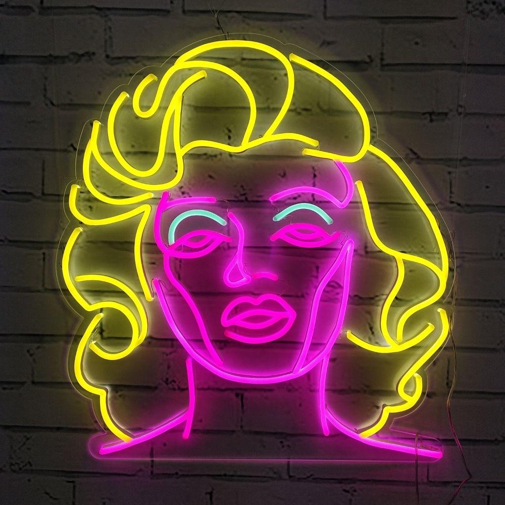 neon marylin monroe la maison du neon