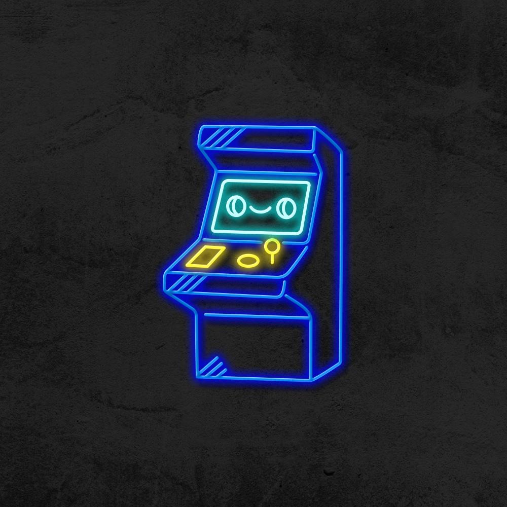 Néon vintage magic arcade